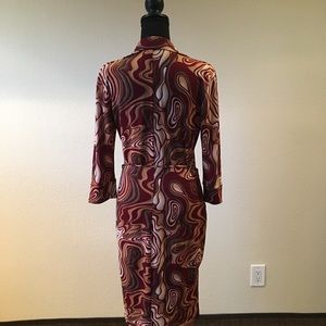Dresses - Vintage forever 21 circa 1985 poly fabulous dress